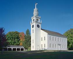 Jaffrey Meeing House, (ca 1775), Jaffrey, New Hampshire.