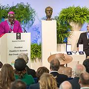 NLD/Middelburg/20180516 -Four Freedom Awards 2018, De award voor de vrijheid van godsdienst is uitgereikt aan Bisschop Paride Taban