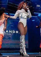 Alexandra Burke performing live on stage during Solihull Summerfest Tudor Grange Park Solihull  West Midlands 2021
