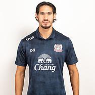 THAILAND - JUNE 07: Mark Hartmann #9 of Suphan Buri FC on June 07, 2019.<br /> .<br /> .<br /> .<br /> (Photo by: Naratip Golf Srisupab/SEALs Sports Images/MB Media Solutions)