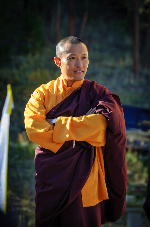 SAKYONG MIPHAM RINPOCHE, head of the Shambhala Buddhist lineage, before the blessing of The Great Stupa of Dharmakaya.