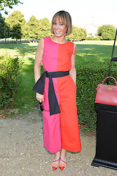 TARA PALMER-TOMKINSON at the Frost Family Summer party in support of the British Heart Foundation and the Mile Frost Fund held at Burton Court, Chelsea, London  on 18th July 2016.