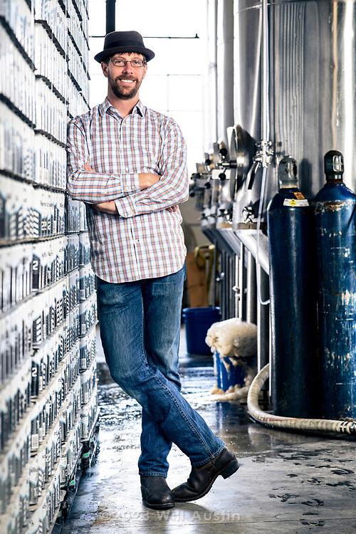 Ryan Hilliard, owner of Hilliard's Beer in the Ballard neighborhood of Seattle, WA