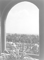1925 View from south window of the sun room at 1847 Camino Palmero