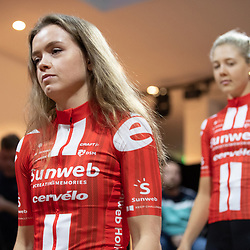 10-12-2019: Wielrennen: Teampresentatie Sunweb: Amsterdam: Susanne Andersen
