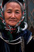 Hmong woman, Sapa, highlands