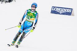 WIKSTROEMEmelie of Sweden during 2nd Run of 50th Golden Fox Audi Alpine FIS Ski World Cup Ladies Slalom, on February 2, 2014 in Podkoren, Kranjska Gora, Slovenia. (Photo By Urban Urbanc / Sportida.com)