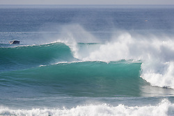 October 12, 2017 - Clean four to six foot waves breaking through the lineup during Round Two of the 2017 Quiksilver Pro France at Hossegor. (Credit Image: © WSL via ZUMA Press)