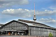 BERLIN, GERMANY - 26/06/2008 - TRAVEL, Friederichbahnhof..cfr. Berlin, Germany, capital, railway, public transport, architecture..REPORTERS©Christophe VANDER EECKEN