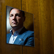 Malky Mackay, who is currently the Performance Director of the Scottish Football Association. Photographed in Glasgow.  Picture Robert Perry  for The Times 14th June 2017