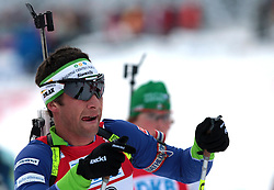 RUPNIK Vasja of Slovenia  during the 12.5 km pursuit of the e.on Ruhrgas IBU Biathlon World Cup on Friday December the 12th, 2009 in Hochfilzen - PillerseeTal, Austria. The second e.on Ruhrgas IBU World Cup stage is taking place in Hochfilzen - PillerseeTal, Austria until Sunday the 13th of December.  (Photo by Pierre Teyssot / Sportida.com)