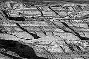 Photographs of the Badlands in ND/SD