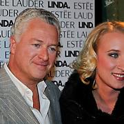 NLD/Amsterdam/20101110 - Presentatie Linda het Boek, Bram Moszkowicz en partner Eva Jinek