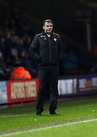 Football - 2016 / 2017 FA Cup - Third Round: Bolton Wanderers vs. Crystal Palace<br /> <br /> Phil Parkinson manager of Bolton Wanderers during the match at Macron Stadium.<br /> <br /> COLORSPORT/LYNNE CAMERON