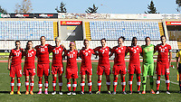 Fifa Womans World Cup Canada 2015 - Preview //<br /> Cyprus Cup 2015 Tournament ( Gsz Stadium Larnaca  - Cyprus ) - <br /> Canada vs South Korea 1-0  // Team Group of Canada , from the left :<br /> Jessie Fleming ,Allysha Chapman ,Melissa Tancredi ,Sophie Schmidt ,Desiree Scott ,Josée Bélanger ,Rhian Wilkinson ,Carmelina Moscato ,Kadeisha Buchanan ,Erin McLeod ,Christine Sinclair