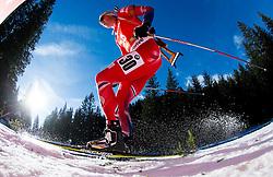 CHRISTIANSEN Vetle Sjastad (NOR) competes during Men 12,5 km Pursuit at day 3 of IBU Biathlon World Cup 2014/2015 Pokljuka, on December 20, 2014 in Rudno polje, Pokljuka, Slovenia. Photo by Vid Ponikvar / Sportida