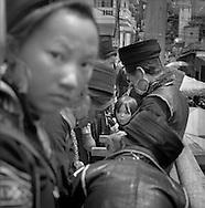 H'Mong people In Sapa's market, Vietnam.2005