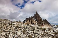 Mountain impression Paternkofel - Europe, Italy, South Tyrol, Sexten Dolomites, Tre Cime - Afternoon - July 2009 - Mission Dolomites Tre Cime