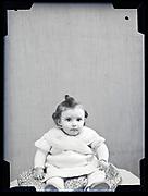 toddler studio portrait circa 1930s