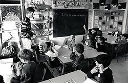 Arkwright primary school, Nottingham UK 1992