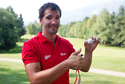 David Spiler at Anze's Eleven and Triglav Charity Golf Tournament, on June 30, 2012 in Golf court Bled, Slovenia. (Photo by Matic Klansek Velej / Sportida)