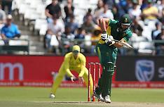 South Africa v Australia 5th ODI - Oct 2017