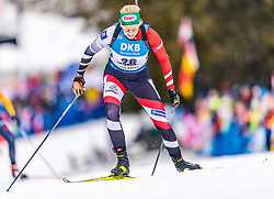 23.02.2020, Suedtirol Arena, Antholz, ITA, IBU Weltmeisterschaften Biathlon, Damen, Massenstart, im Bild 23.02.2020, Suedtirol Arena, Antholz, ITA, IBU Weltmeisterschaften Biathlon, Damen, Massenstart, im Bild // Lisa Theresa Hauser of Austria during women's mass start of IBU Biathlon World Championships 2020 at the Suedtirol Arena in Antholz, Italy on 2020/02/23. EXPA Pictures © 2020, PhotoCredit: #AGENTUR#/ Stefan Adelsberger // Lisa Theresa Hauser of Austria during women's mass start of IBU Biathlon World Championships 2020 at the Suedtirol Arena in Antholz, Italy on 2020/02/23. EXPA Pictures © 2020, PhotoCredit: EXPA/ Stefan Adelsberger<br /> <br /> *****ATTENTION - #RESTRICTION#*****