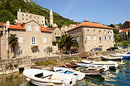 Perast, Kotor Bay Montenegro .<br /> <br /> Visit our MONTENEGRO HISTORIC PLAXES PHOTO COLLECTIONS for more   photos  to download or buy as prints https://funkystock.photoshelter.com/gallery-collection/Pictures-Images-of-Montenegro-Photos-of-Montenegros-Historic-Landmark-Sites/C0000AG8SdQ.sYLU