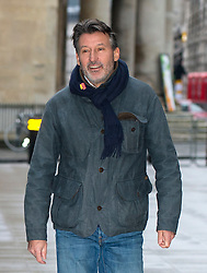 © Licensed to London News Pictures. 17/01/2016. London, UK. President of the IAAF Lord SEBASTIAN COE arriving at BBC Broadcasting House in London. Photo credit: Ben Cawthra/LNP