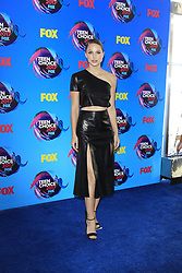 August 13, 2017 - Los Angeles, CA, USA - LOS ANGELES - AUG 13:  Melissa Benoist at the Teen Choice Awards 2017 at the Galen Center on August 13, 2017 in Los Angeles, CA (Credit Image: © Kay Blake via ZUMA Wire)