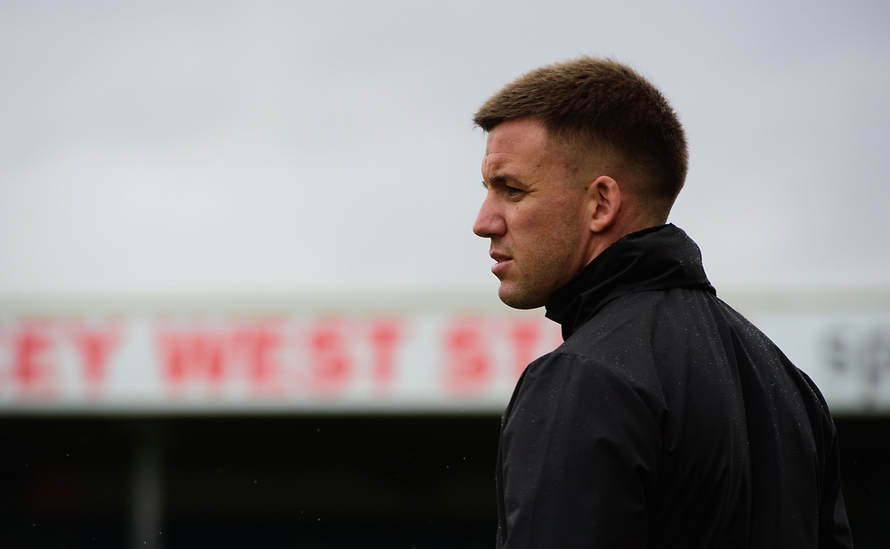 Crawley Town joint caretaker manager Jimmy Smith<br /> <br /> Photographer Chris Vaughan/CameraSport<br /> <br /> The EFL Sky Bet League Two - Lincoln City v Crawley Town - Saturday September 8th 2018 - Sincil Bank - Lincoln<br /> <br /> World Copyright © 2018 CameraSport. All rights reserved. 43 Linden Ave. Countesthorpe. Leicester. England. LE8 5PG - Tel: +44 (0) 116 277 4147 - admin@camerasport.com - www.camerasport.com