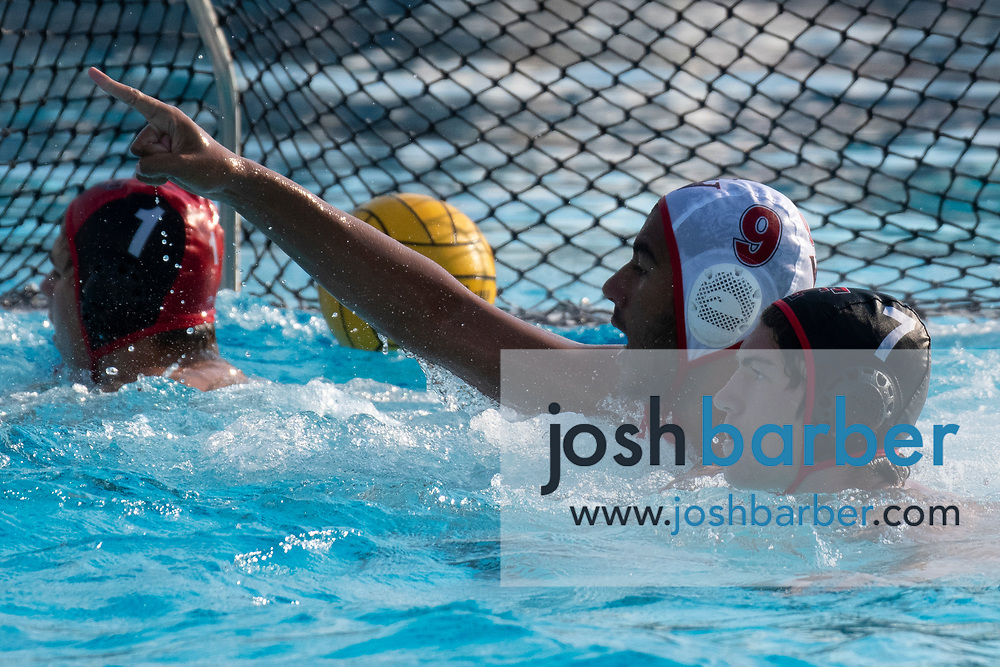 Valley View's Shane Randle during the CIFS-SS Division 6 Championship Final at William Woollett Jr. Aquatic Center on Saturday, November 10, 2018 in Irvine, Calif. Valley View won 10-9. (Photo by Josh Barber, Contributing Photographer)