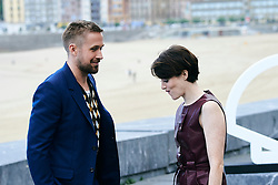 Claire Foy, Ryan Gosling attended 'First Man' Photocall during the 66th San Sebastian International Film Festival at Kursaal Palace on September 24, 2018 in San Sebastian, Spain. 24 Sep 2018 Pictured: Claire Foy, Ryan Gosling. Photo credit: MEGA TheMegaAgency.com +1 888 505 6342