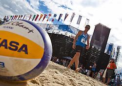 04.08.2011, Klagenfurt, Strandbad, AUT, Beachvolleyball World Tour Grand Slam 2011, im Bild Impressions from Beachvolleyball, EXPA Pictures © 2011, PhotoCredit EXPA Gert Steinthaler
