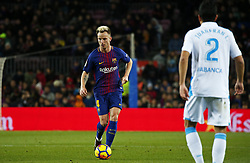 December 17, 2017 - Barcelona, Catalonia, Spain - Ivan Rakitic during the La Liga match between FC Barcelona v Real Club Deportivo de La Coruna, in Barcelona, on December 17, 2017. (Credit Image: © Joan Valls/NurPhoto via ZUMA Press)