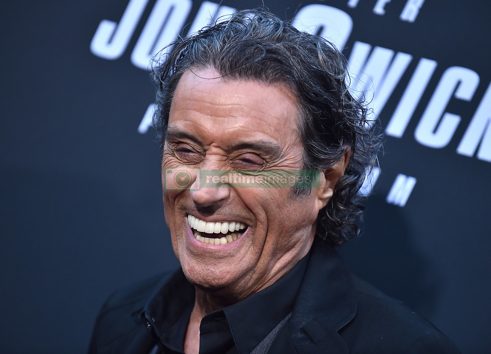 """Asia Kate Dylan at the L.A. special screening of """"John Wick: Chapter 3 - Parabellum"""" held at the TCL Chinese Theatre. 15 May 2019 Pictured: Ian McShane. Photo credit: O'Connor/AFF-USA.com / MEGA TheMegaAgency.com +1 888 505 6342"""