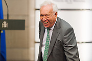 Spanish Minister Jose Maria Margallo of Foreign Office
