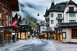 Downtown Zermatt Switzerland