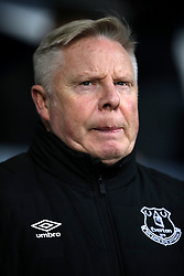 Everton's assistant manager Sammy Lee before the Premier League match at The Hawthorns, West Bromwich.