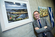 Editorial photograph of Holyrood Parliament MSP Alasdair Allan.