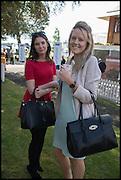 EMMA GILLESPIE-PAYNE; KATE FRATER, Ebor Festival, York Races, 20 August 2014