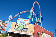 The Xcelerator At Knott's Berry Farm In Buena Park California
