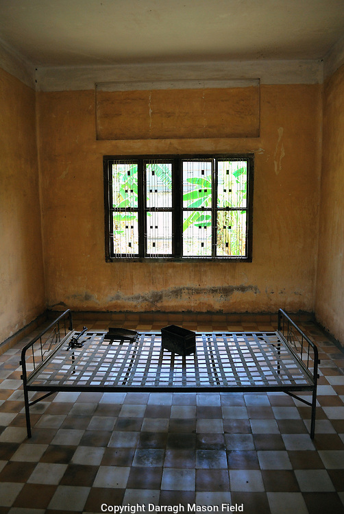 """The Tuol Sleng Genocide Museum is a museum in Phnom Penh, the capital of Cambodia. The site is a former high school which was used as the notorious Security Prison 21 (S-21)  by the Khmer Rouge regime from its rise to power in 1975 to its fall in 1979. Tuol Sleng in Khmer; means """"Hill of the Poisonous Trees"""" or """"Strychnine  Hill"""""""