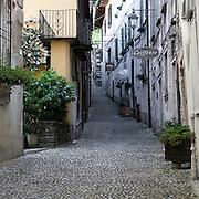 Via dei Monti a Orta San Giulio..Old halley in Orta San Giulio