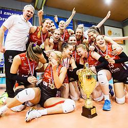 20170318: SLO, Volleyball - Final match of Slovenian Women Cup, Calcit Volleyball vs Nova KBM Branik