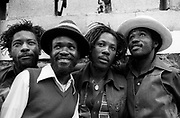 Wailing Souls photosession in Jamaica 1979