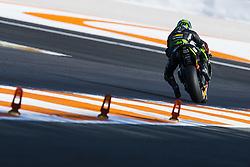 November 15, 2017 - Valencia, Valencia, Spain - 5 Johann Zarco (French) Monster Yamaha Tech 3 during the tests of the new season, MotoGP 2018. Circuit of Ricardo Tormo,Valencia, Spain. Wednesday 15th of november 2017. (Credit Image: © Jose Breton/NurPhoto via ZUMA Press)
