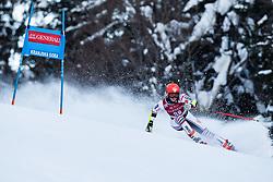Doriane Escane (FRA) during the Ladies' Giant Slalom at 57th Golden Fox event at Audi FIS Ski World Cup 2020/21, on January 16, 2021 in Podkoren, Kranjska Gora, Slovenia. Photo by Vid Ponikvar