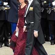 NLD/Amsterdam/20130430 - Inhuldiging Koning Willem - Alexander, prince Pieter Christiaan and partner Annette