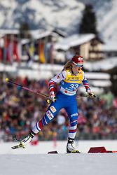 February 21, 2019 - Seefeld In Tirol, AUSTRIA - 190221 Katerina Janatova of Czech Republic competes in women's cross-country skiing sprint qualification during the FIS Nordic World Ski Championships on February 21, 2019 in Seefeld in Tirol..Photo: Joel Marklund / BILDBYRN / kod JM / 87879 (Credit Image: © Joel Marklund/Bildbyran via ZUMA Press)
